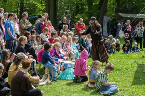 Donderelf muziek en verteltheater voor kinderen